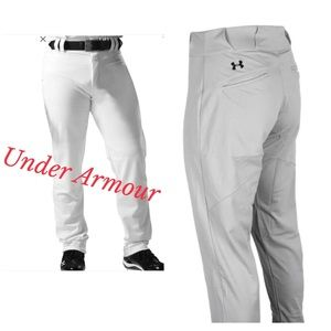 NEW - Lot of 2 Under Armour Baseball Pants XL